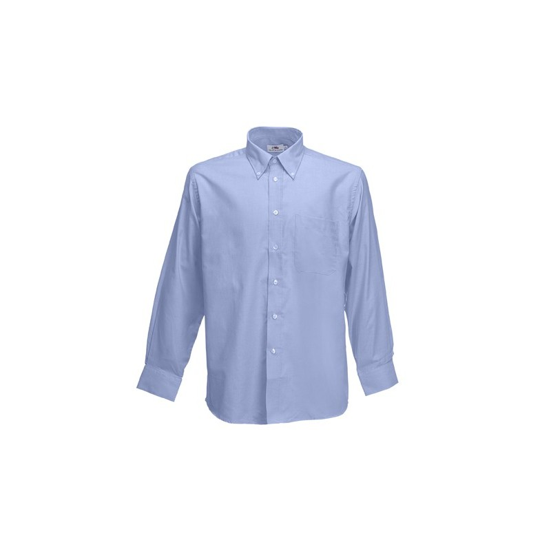 eb605a8663 CAMISA OXFORD MANGA LARGA - Dt - Distribuciones Textiles