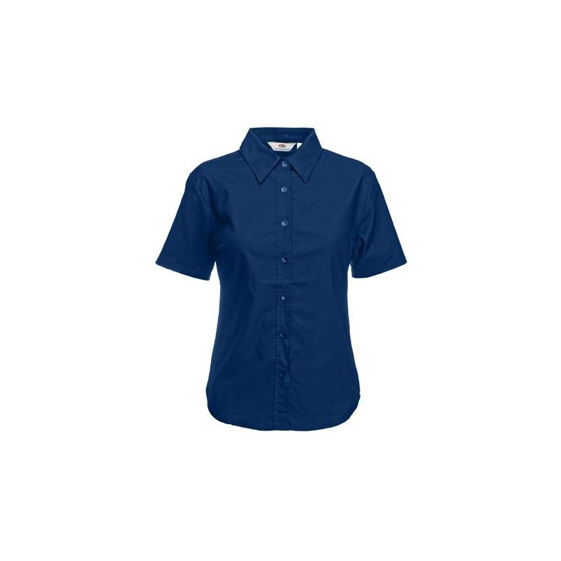 1775740546 CAMISA OXFORD MANGA CORTA PARA MUJER - Dt - Distribuciones Textiles