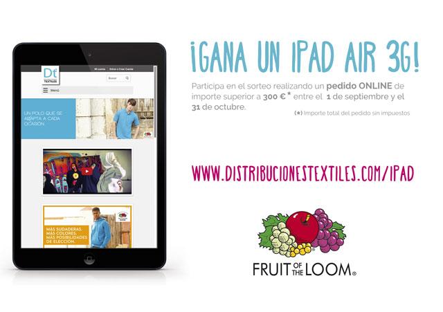 Gana un iPad Air 3G